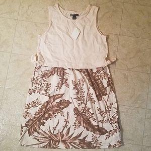 GapKids Soft Pink Flowered Dress - Size 10